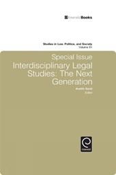 Special Issue Interdisciplinary Legal Studies