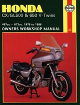 Honda CX/Gl500 & 650 - V-Twins | Jeremy Churchill |