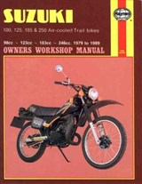 Suzuki 100, 125, 185 and 250cc Trail Bikes 1979-85 Owner's W | Chris Rogers |