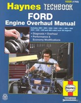 Ford Engine Overhaul Manual | John Haynes |