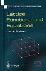 Lattice Functions and Equations | S. Rudeanu |