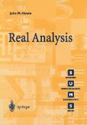 Real Analysis | John M Howie |