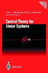 Control Theory for Linear Systems | H. L. Trenteman |