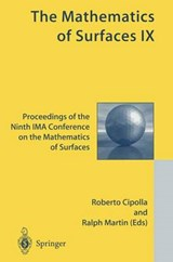 The Mathematics of Surfaces IX | R. Cipolla |