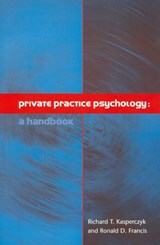 Private Practice Psychology | Richard Kasperczyk |