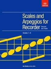 Scales and Arpeggios for Recorder (Descant and Treble), Grad