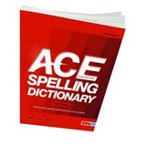 ACE Spelling Dictionary | David Moseley |