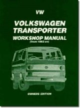 Vw Volkswagen Transporter Wsm 82+ | Brooklands Books Ltd. |