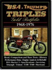 Bsa and Triumph Triples