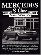 Mercedes S-class Limited Edition Extra 1980-91 | R. M. Clarke |
