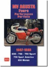 Mv Agusta Fours Performance Portfolio 1967-1980