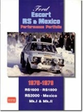 Ford Escort Rs and Mexico Performance Portfolio 1970-1979