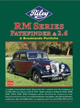 Brooklands Riley RM Series Pathfinder & 2.6 | R. M. Clarke |