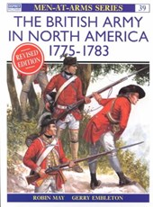 The British Army in North America 1775-1783