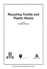 Recycling Textile and Plastic Waste | A. R. Horrocks |