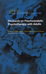 Research on Psychoanalytic Psychotherapy with Adults |  |