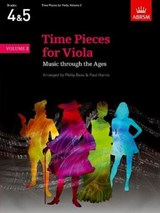Time Pieces for Viola, Volume | Philip Bass |