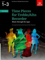 Time Pieces for Treble/Alto Recorder, Volume | Kathryn Bennetts |