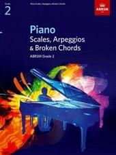 Piano Scales, Arpeggios & Broken Chords, Grade