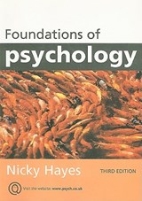 Foundations of Psychology | Nicky Hayes |