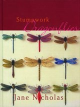 Stumpwork Dragonflies | Jane Nicholas |