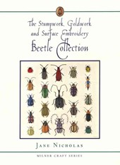 The Stumpwork, Goldwork and Surface Embroidery Beetle Collection | Jane Nicholas |