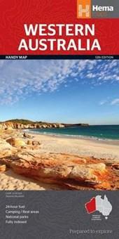 Western Australia State National Park Handy Map 1 : 2.500.000