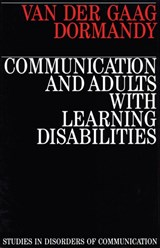 Communication and Adults with Learning Disabilities | Anna Van Der Gaag |