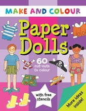 Make and Colour Paper Dolls | Clare Beaton |