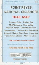 Point Reyes National Seashore Trail Map | Tom Harrison |