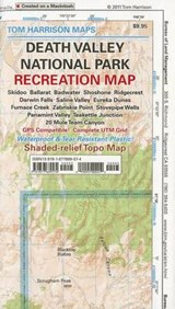 Death Valley National Park Recreation Map | Tom Harrison |