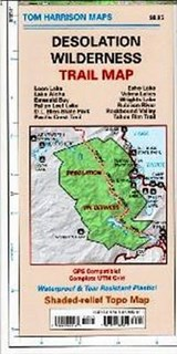 Desolation Wilderness Trail Map | Tom Harrison |