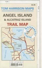 Angel Island & Alcatraz Island Trail Map