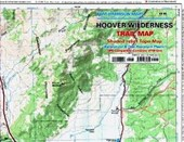 Hoover Wilderness Trail Map