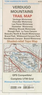 Verdugo Mountains Trail Map | Tom Harrison Maps; Tom Harrison |