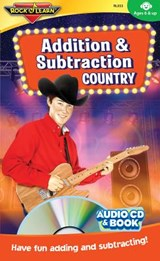 Addition & Subtraction Country [With Book(s)] | Rock N Learn |