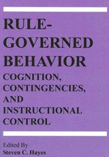 Rule-governed Behavior | Steven C. Hayes |