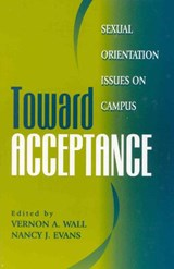 Toward Acceptance | Vernon A. Wall; Nancy J. Evans |