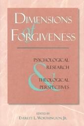Dimensions of Forgiveness