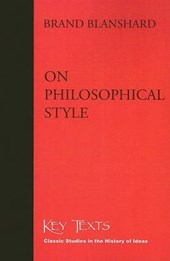 On Philosophical Style
