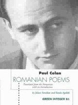 Romanian Poems | Paul Celan |