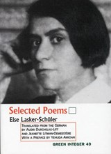 Selected Poems | Else Lasker-Schuler |