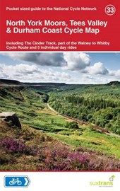North York Moors, Tees Valley & Durham Coast Cycle Map |  |