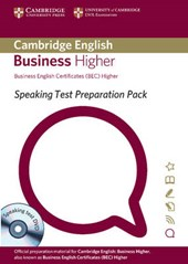 Speaking Test Preparation Pack for Bec Higher Paperback with DVD