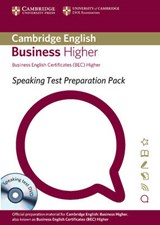 Speaking Test Preparation Pack for Bec Higher Paperback with DVD | Cambridge Esol |