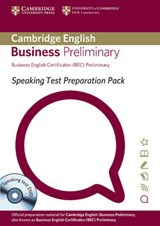 Speaking Test Preparation Pack for Bec Preliminary Paperback with DVD | Cambridge Esol |
