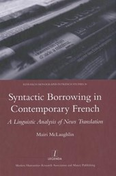 Syntactic Borrowing in Contemporary French