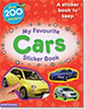 My Favourite Cars Sticker Book