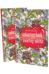 One and Only Coloring Book for Travelling Adults