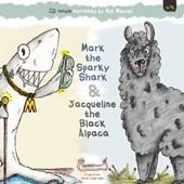 Mark the Sparky Shark & Jacqueline the Black Alpaca
